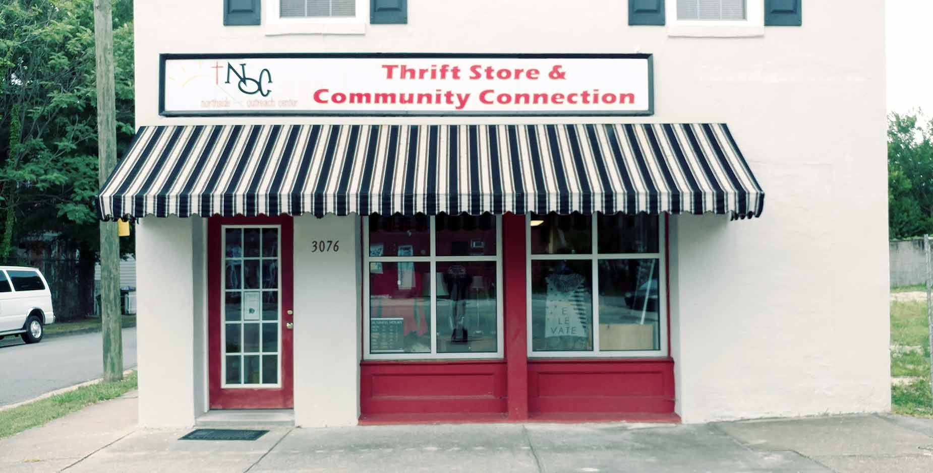 The NOC Store front